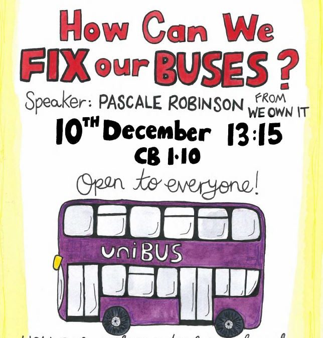 How Can We Fix Our Buses?